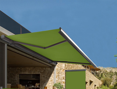 wall mounted awning